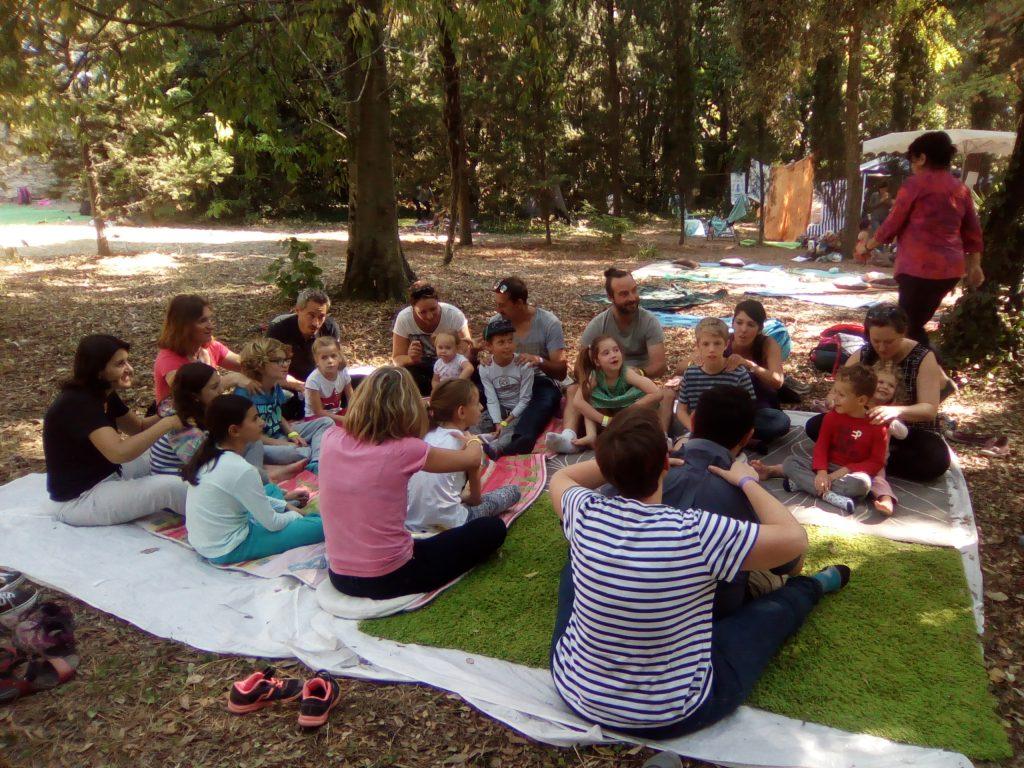 Misa Massage en famille Ecole de la Vie Montpellier